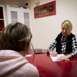 Seduta psicoterapia al Centro il grillo Parlante - Pisa